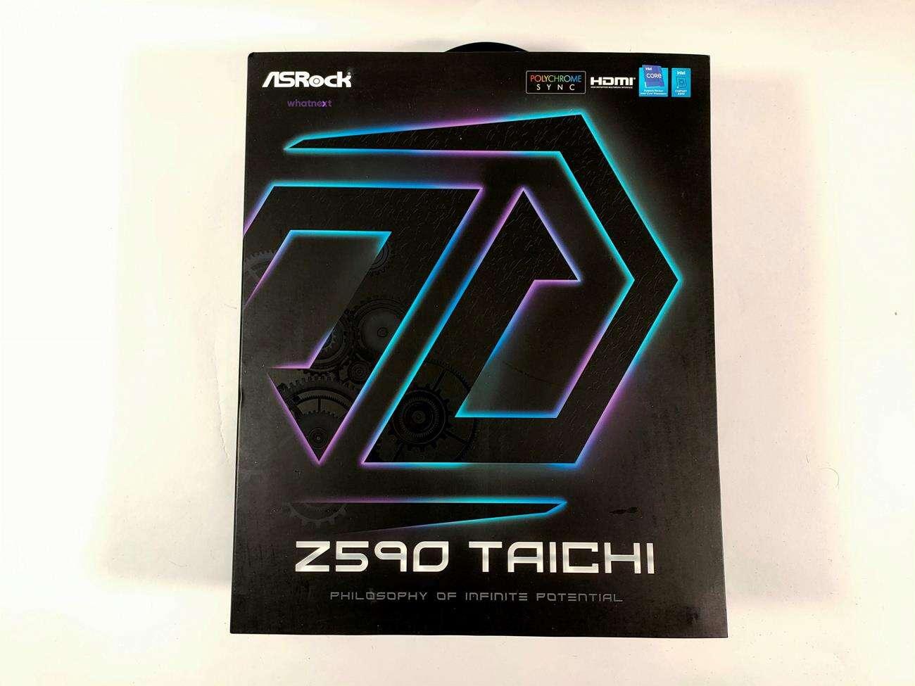 test ASRock Z590 Taichi, recenzja ASRock Z590 Taichi, opinia ASRock Z590 Taichi