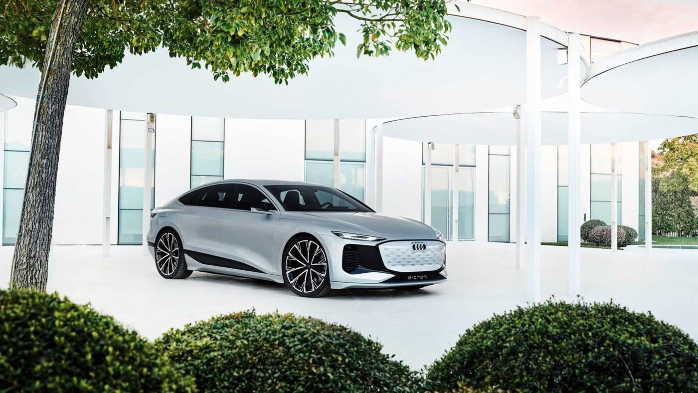 koncept Audi A6 E-Tron, Audi A6 E-Tron,