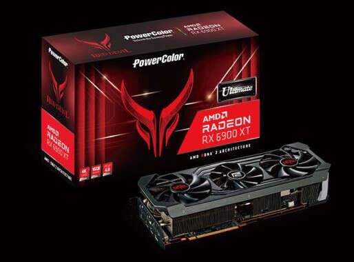 Radeon RX 6900 XT, Radeon RX 6900 XT Ultimate, PowerColor Ultimate GPU