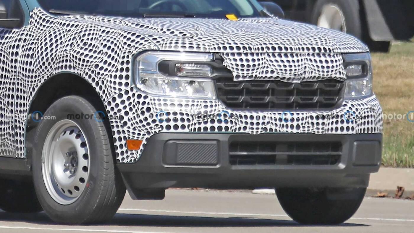 bazowy model Ford Maverick w testach, testy Ford Maverick, model Ford Maverick, testy modelu Ford Maverick