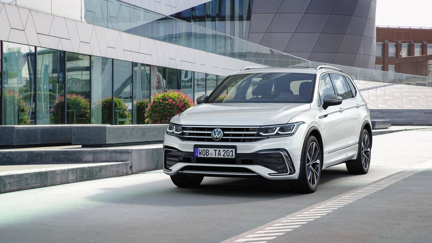 Premiera Volkswagena Tiguan Allspace 2022, Tiguan Allspace 2022