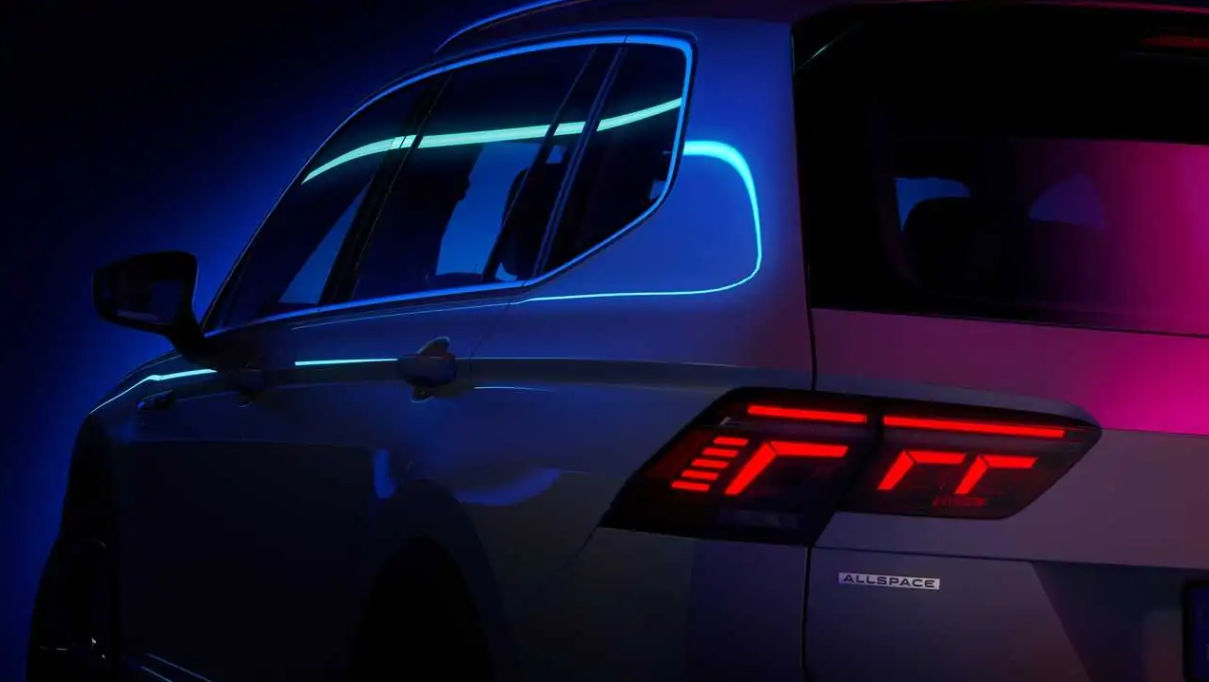 zwiastun Tiguan Allspace 2022 Volkswagena, zwiastun Tiguan Allspace 2022, Tiguan Allspace 2022