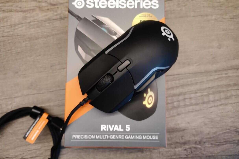 Test SteelSeries Rival 5, Rival 5, SteelSeries Rival 5,