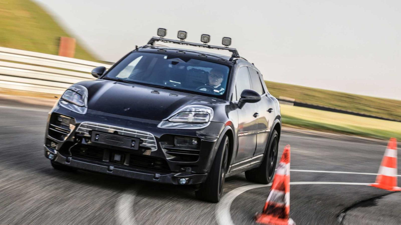 Zwiastun elektrycznego Porsche Macan, najbardziej sportowy SUV, elektrycznego Porsche Macan, zwistun Porsche Macan,
