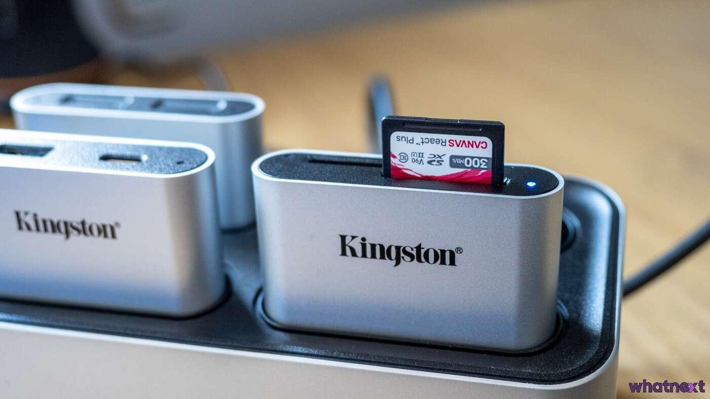 Kingston Workflow Station
