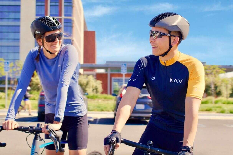 Drukowany kask rowerowy KAV R1, Drukowany kask rowerowy, KAV R1, kask rowerowy