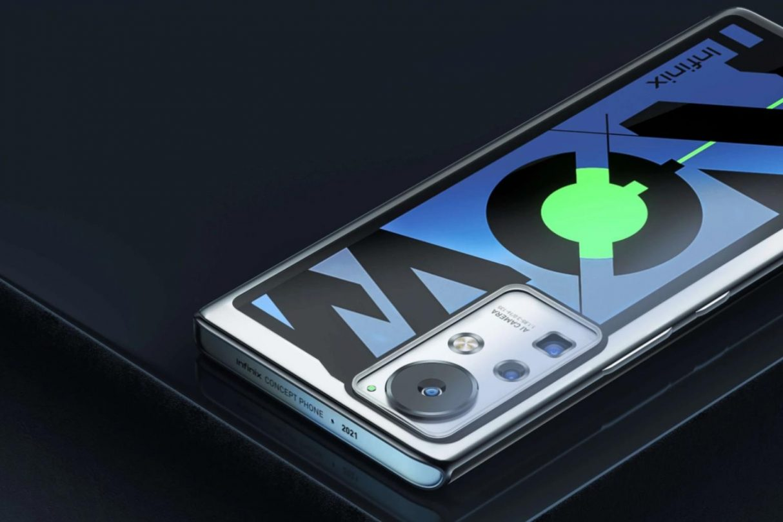 Infinix Concept Phone 2021, Infinix ładowarka 160 W, Infinix ładowanie 160 W, Concept Phone 2021