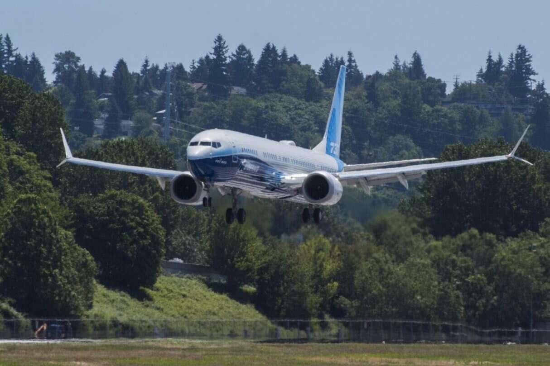 Największy Airbus Max wystartował, Boeing 737 MAX 10