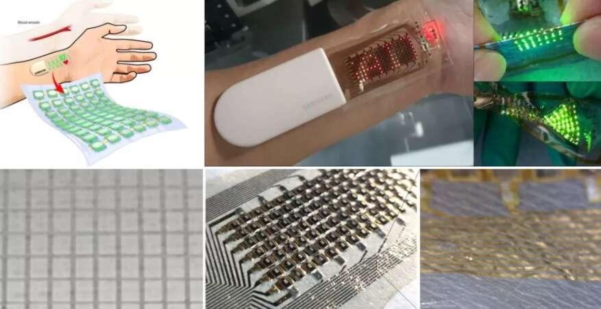 Elastyczny czujnik zdrowia OLED, samsung czujnik zdrowia