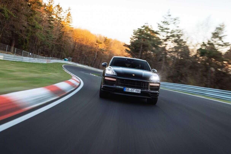 Nowe Porsche Cayenne Coupe, rekord na Nurburgring, Porsche Cayenne Coupe,