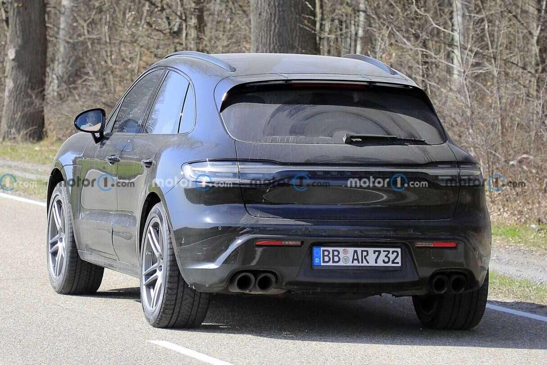 Odświeżenie Porsche Macan, Porsche Macan 2022