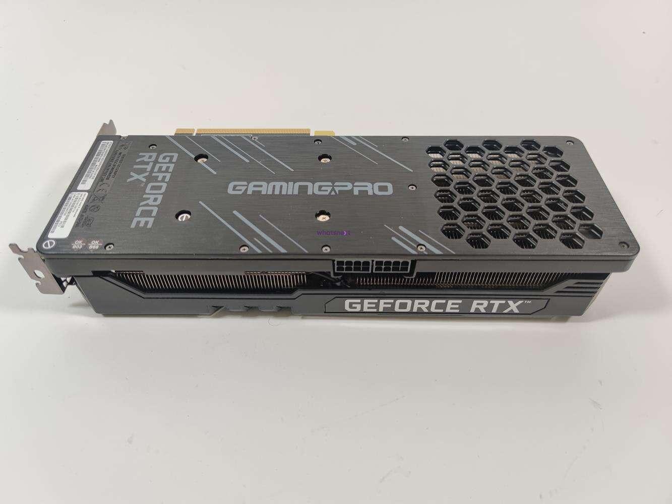 test Palit GeForce RTX 3070 Ti GamingPro, recenzja Palit GeForce RTX 3070 Ti GamingPro, opinia Palit GeForce RTX 3070 Ti GamingPro