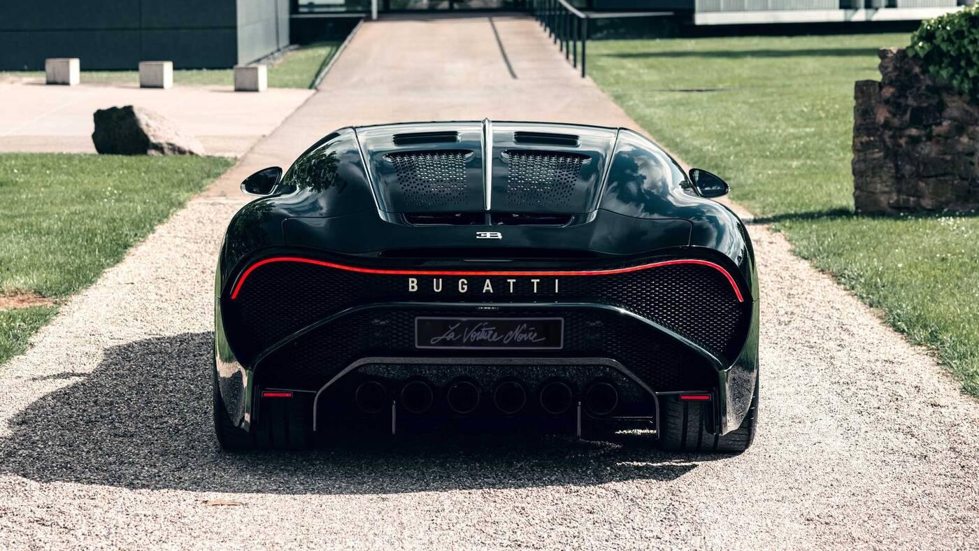 Premiera Bugatti La Voiture Noire, czyli hipersamochodu za 48,95 miliona
