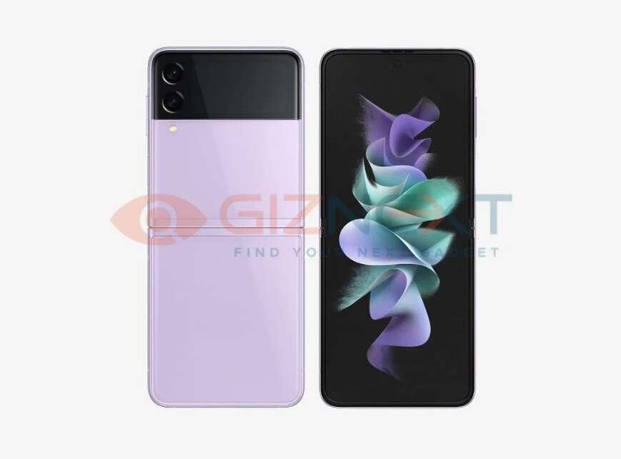 Rendery Galaxy Z Flip3, Samsung Galaxy Z Flip3, Galaxy Z Flip3 wersje kolorystyczne, Galaxy Z Flip3, specyfikacja Galaxy Z Flip3