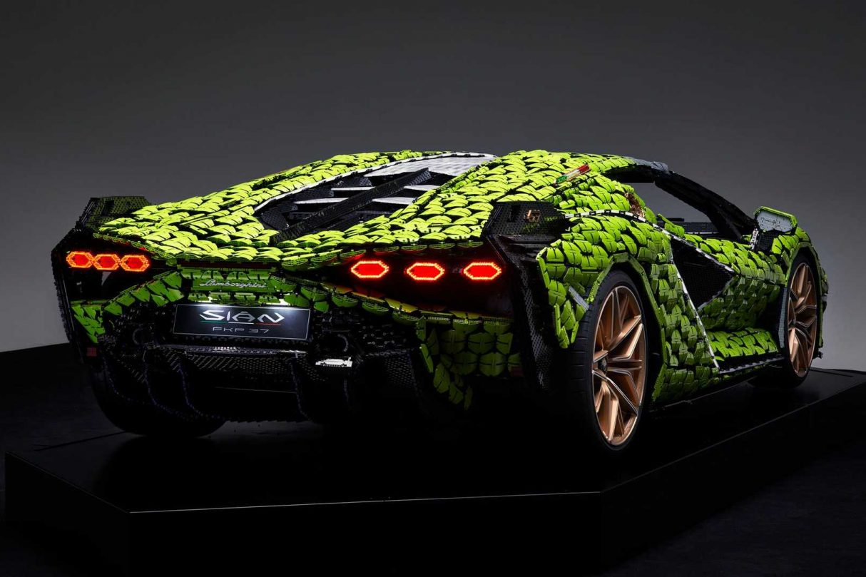 Replika LEGO Lamborghini Sian, LEGO Lamborghini Sian, Lamborghini Sian LEGO, replika Lamborghini Sian