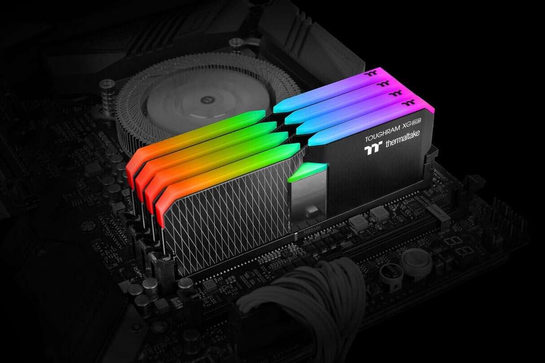 Szukacie pojemnych DDR4, Moduły Toughram XG RGB, Toughram XG RGB, pojemne Toughram XG RGB