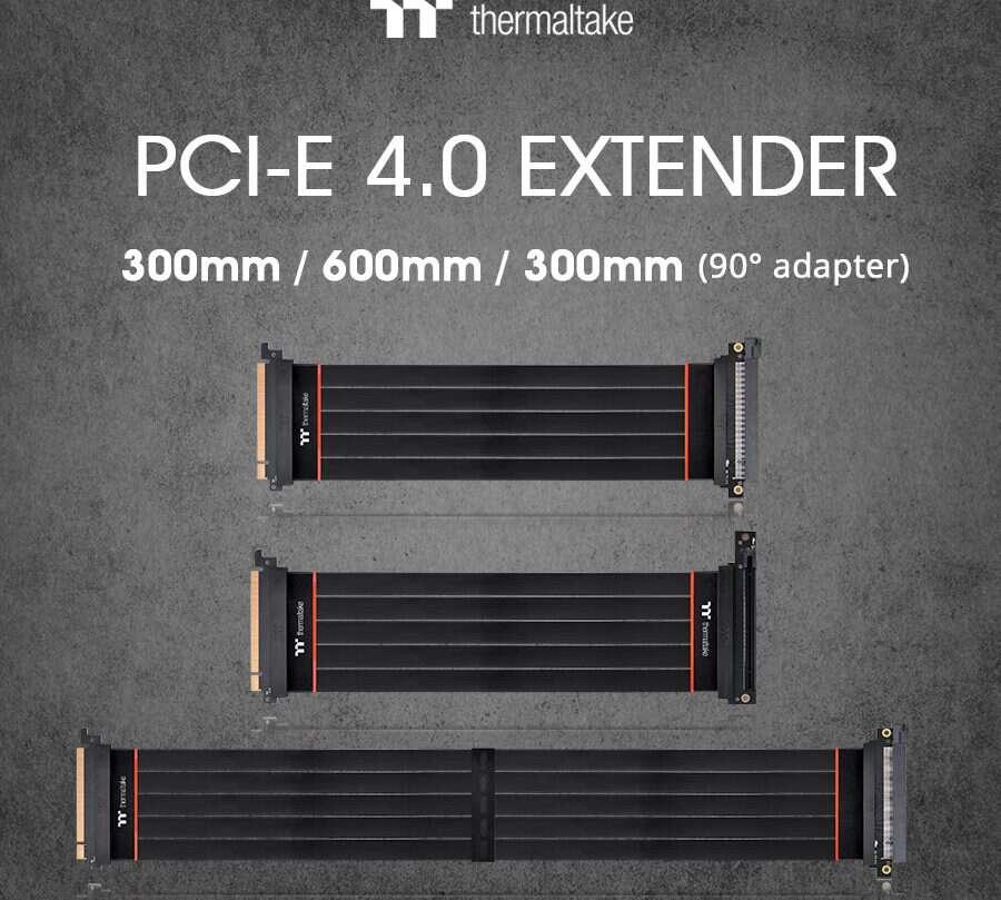 Thermaltake risery PCIe 4.0, risery PCIe 4.0, risery PCIe 4.0 TT Premium, TT Premium risery PCIe 4.0