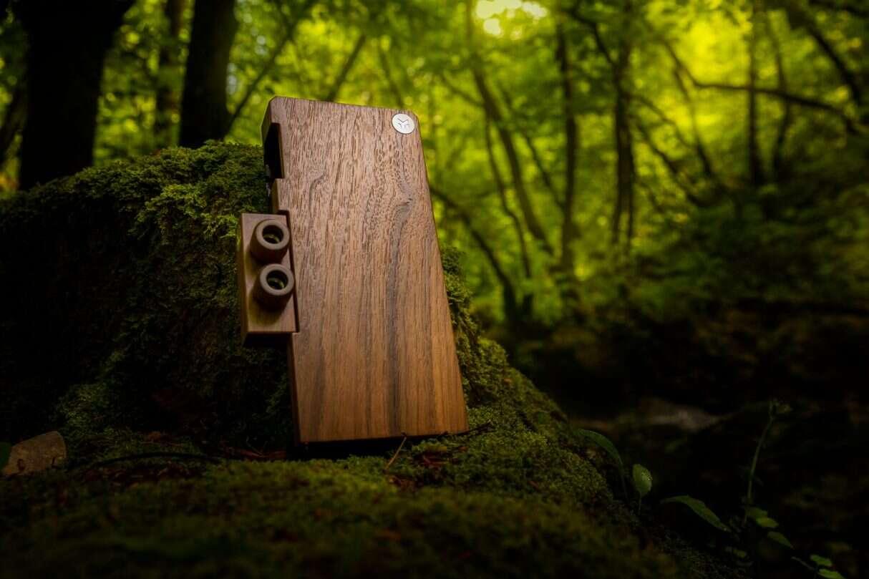 blokami EK Lingum, drewniany komputer wysokiej klasy