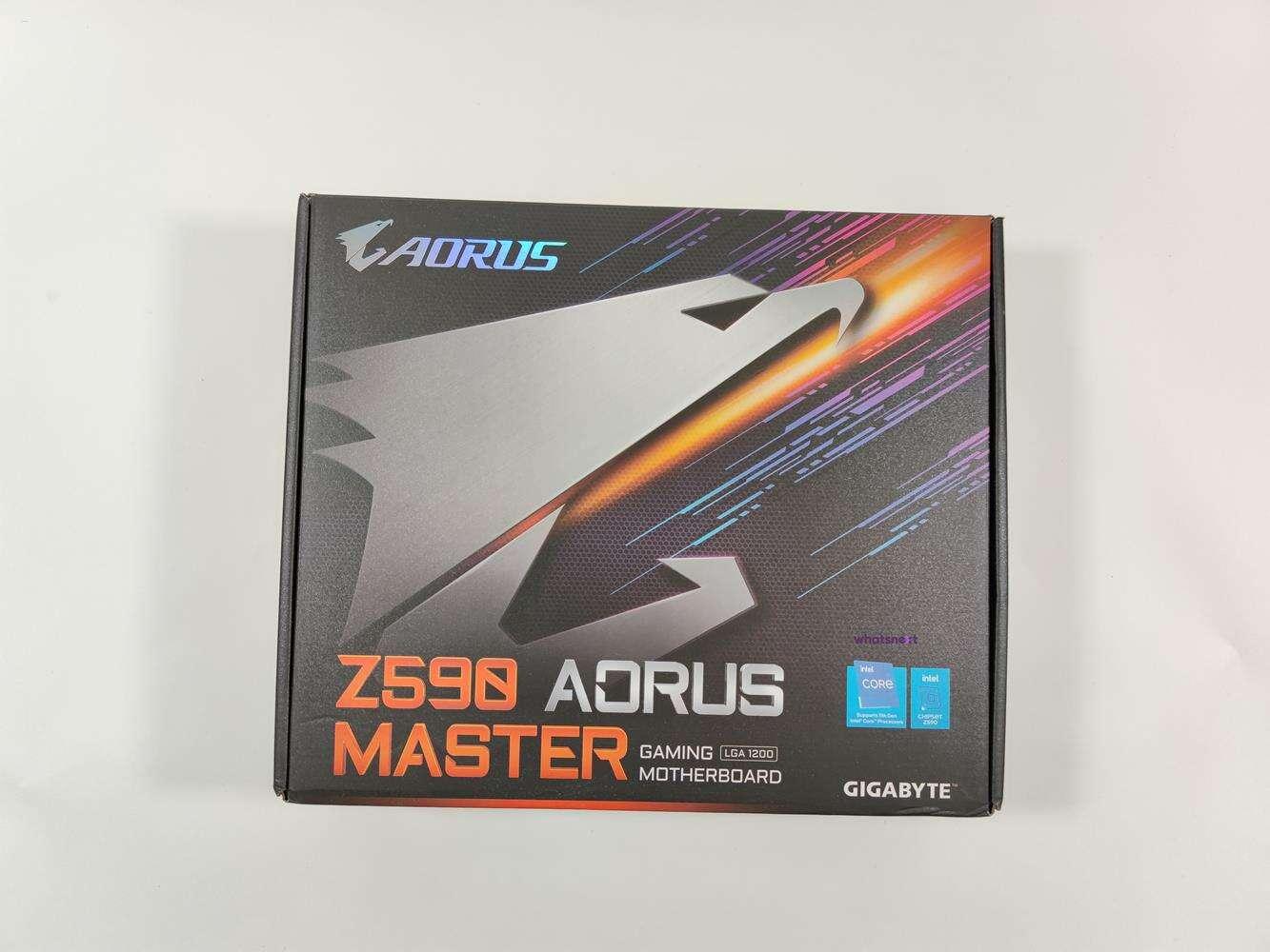 test z590 aorus master, recenzja z590 aorus master, opinia z590 aorus master