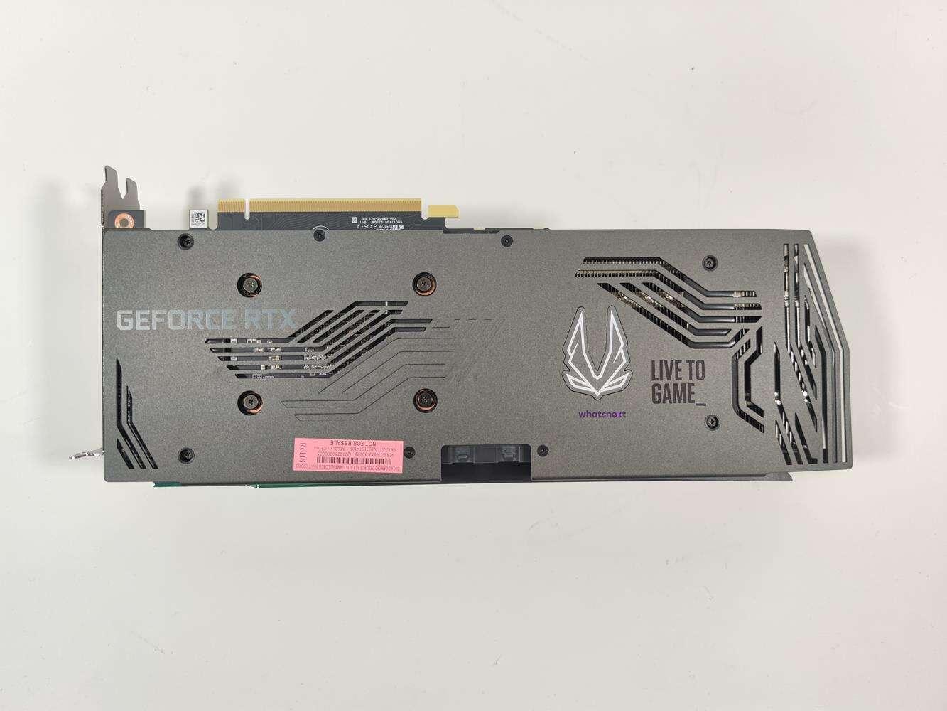 test ZOTAC GeForce RTX 3070 Ti AMP Holo, recenzja ZOTAC GeForce RTX 3070 Ti AMP Holo, opinia ZOTAC GeForce RTX 3070 Ti AMP Holo