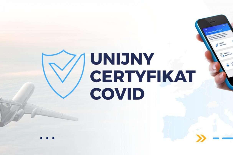 Do aplikacji mObywatel trafi unijny certyfikat COVID