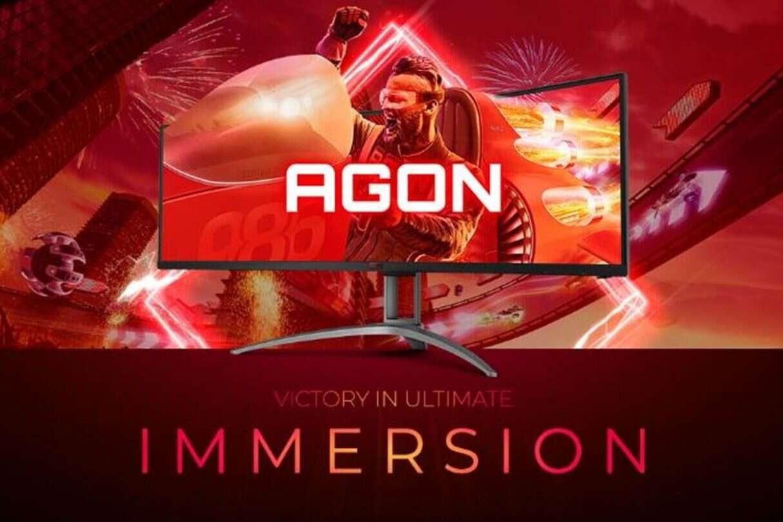 AGON, zakrzywione monitory AGON