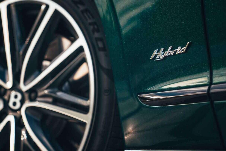 Hybrydowy Bentley Flying Spur, druga najmocniejsza PHEV bentley, Bentley PHEV