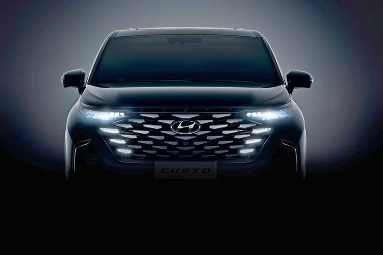 Hyundai pokazał kabinę minivana Custo 2022,kabinę minivana Custo 2022, Custo, Custo 2022