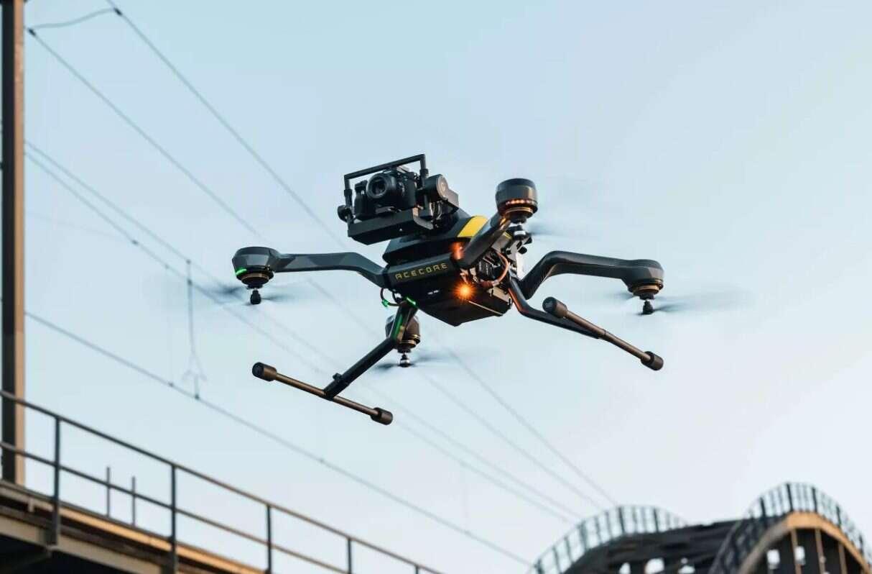 Nagrywanie z dronem Zoe Zetona, Zoe Zetona, dron Zoe Zetona