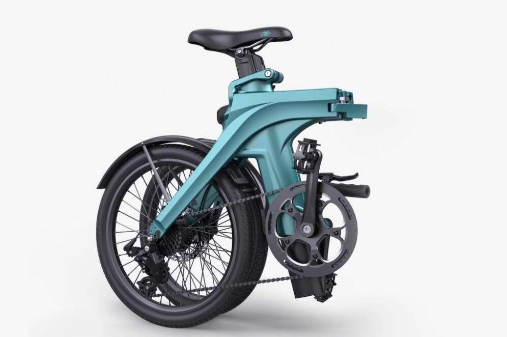 Fiido X, Tani i lekki składany rower elektryczny, składany rower elektryczny