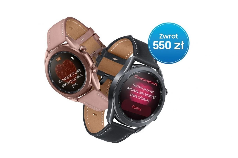 Promocja na Galaxy Watch3, Galaxy Watch3