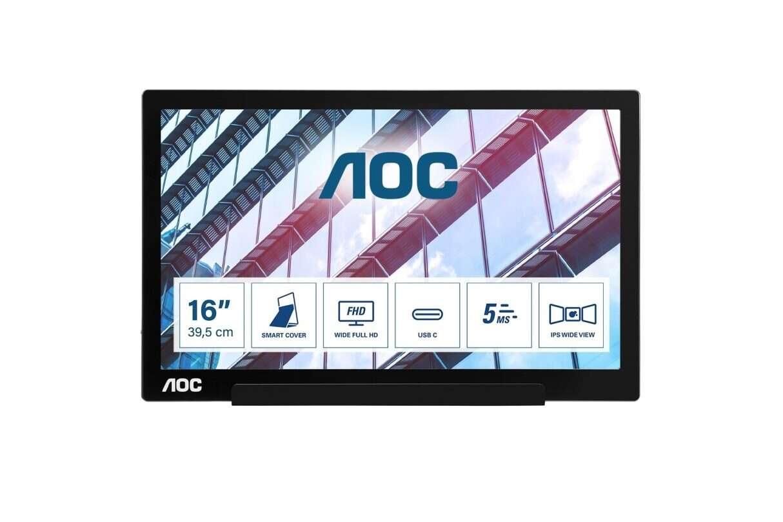 Przenośny monitor AOC I1601P, monitor AOC I1601P,