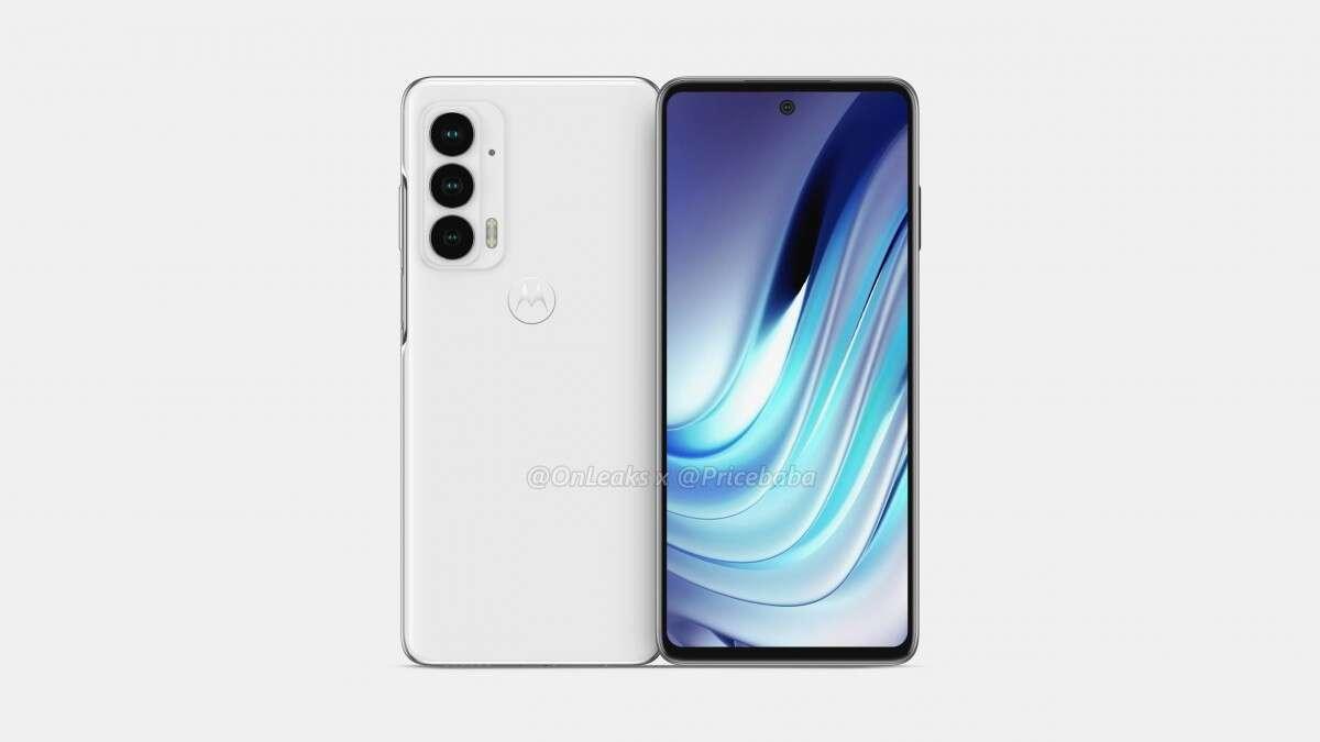 Rendery Motorola Edge 20, Motorola Edge 20, Edge 20, wygląd Motorola Edge 20, wyciek Motorola Edge 20, specyfikacja Motorola Edge 20