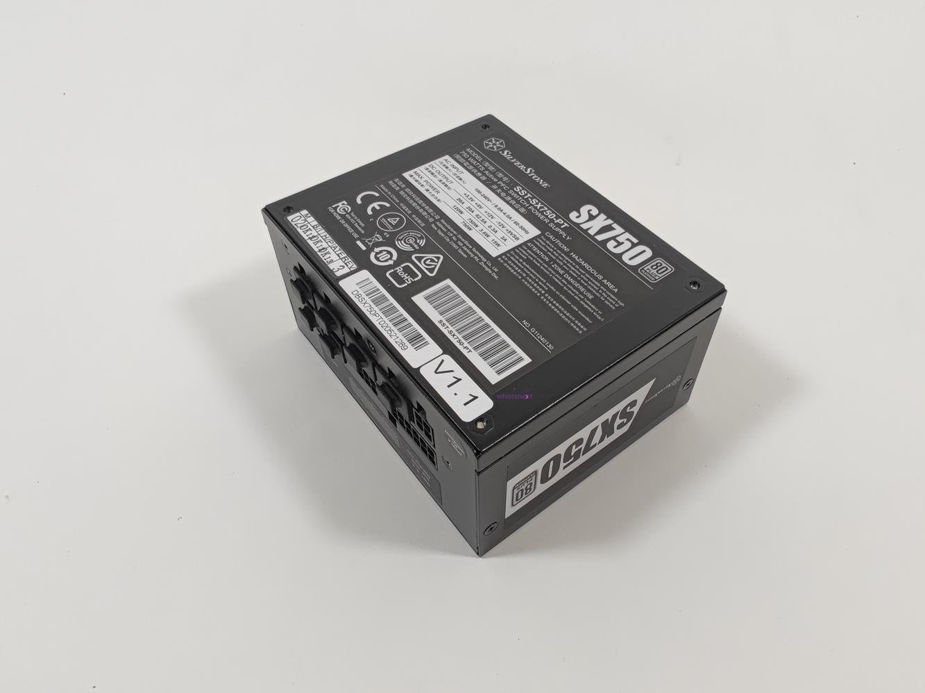 test SilverStone SX750 Platinum, recenzja SilverStone SX750 Platinum, opinia SilverStone SX750 Platinum