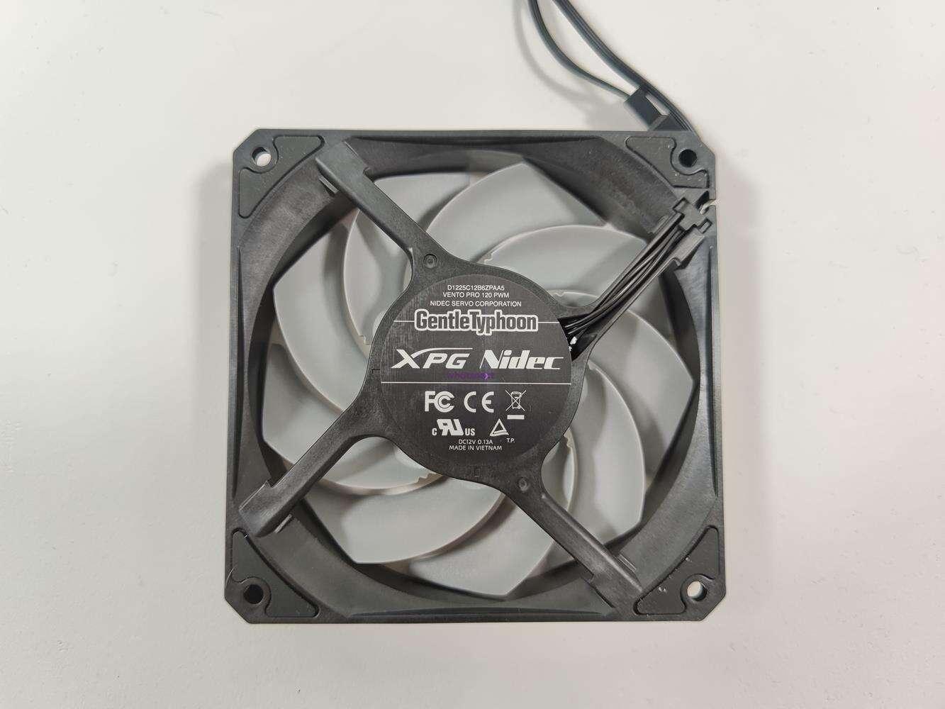 test XPG Vento Pro 120 PWM, recenzja XPG Vento Pro 120 PWM, opinia XPG Vento Pro 120 PWM