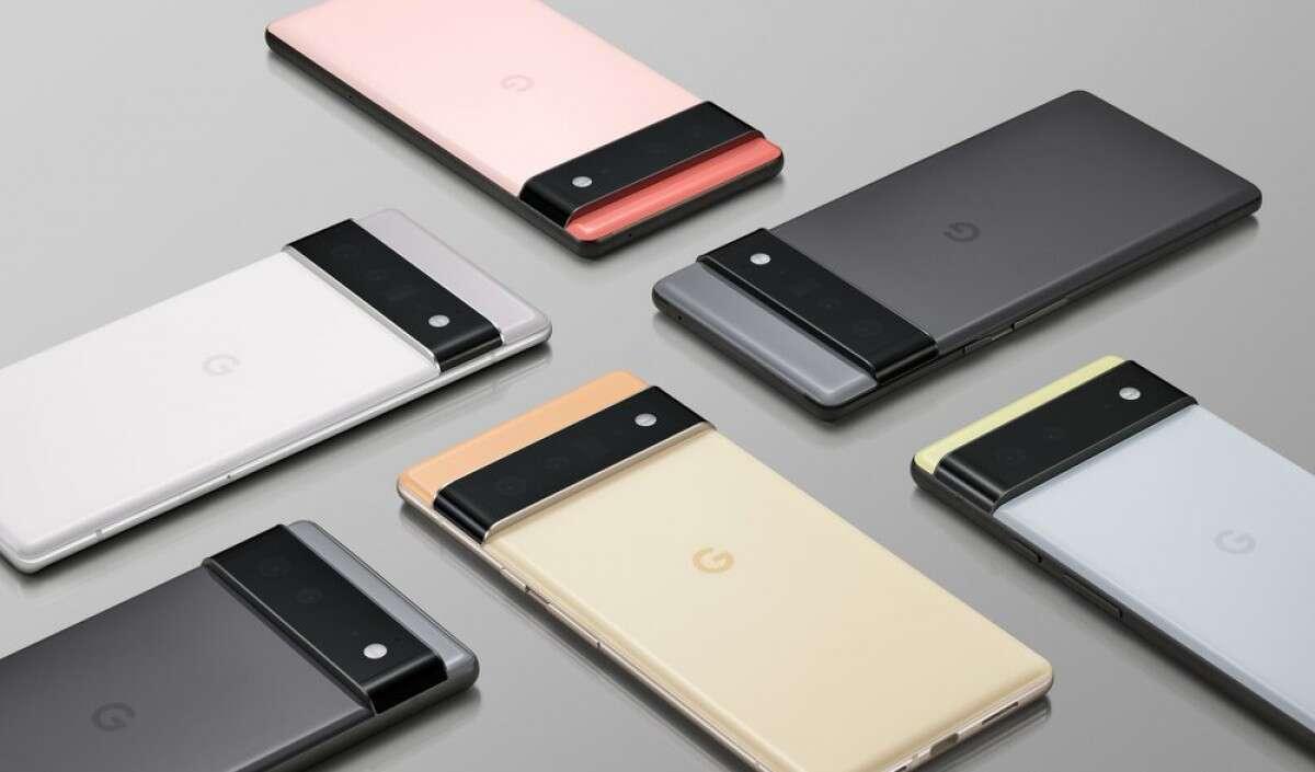 Google Pixel 6, Google Pixel 6 Pro, Pixel 6 układ Tensor, układ Tensor, Pixel 6, Pixel 6 Pro