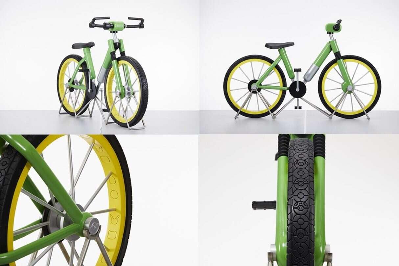 replika roweru z Pokemon Red and Blue, replika roweru z Pokemon