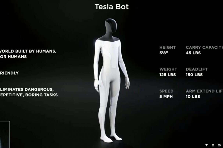 Tesla Bot, robot,