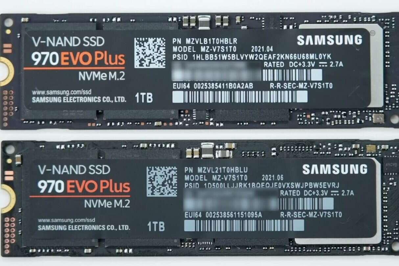 Samsung podmienił komponenty 970 EVO Plus, komponenty 970 EVO Plus, Samsung 970 EVO Plus, 970 EVO Plus