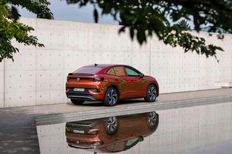 Volkswagena ID.5 GTX, prototyp Volkswagena ID.5 GTX, zdjęcia Volkswagena ID.5 GTX, Volkswagen ID.5 GTX