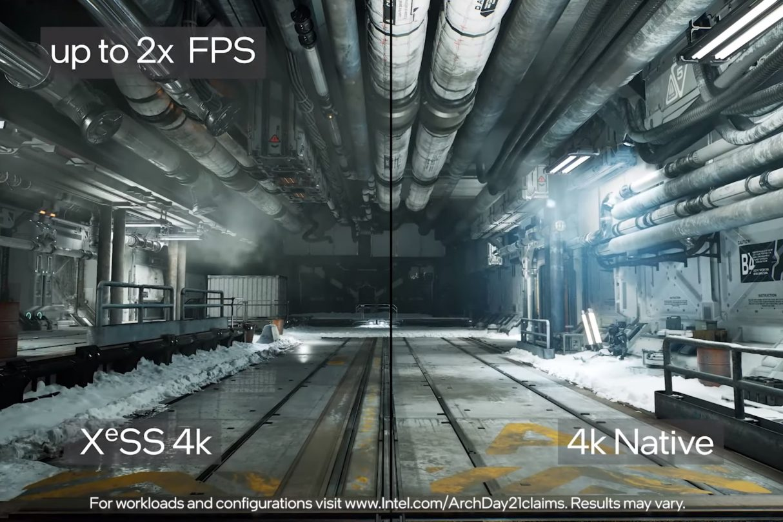 XeSS Intela, konkurencja dla DLSS oraz FSR