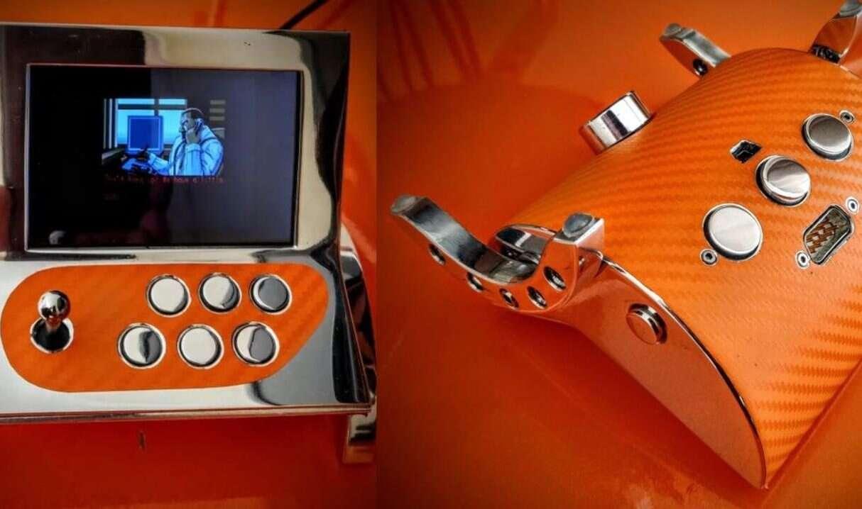 automat do gier Arcade na bazie Raspberry Pi, dzieło sztuki, automat do gier