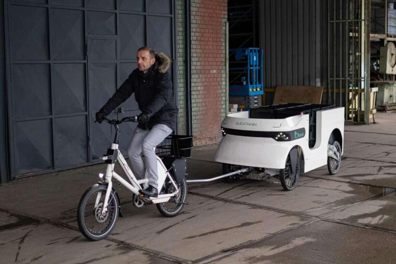 Trailerduck, problem rowerów transportowych, rowerowa przyczepka, Trailerduck