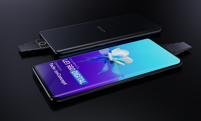 Vivo patentuje smartfon z kaskadowym aparatem