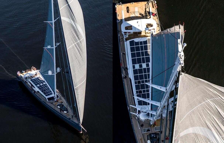 Baltic 146 PATH, jacht z największym systemem paneli słonecznych