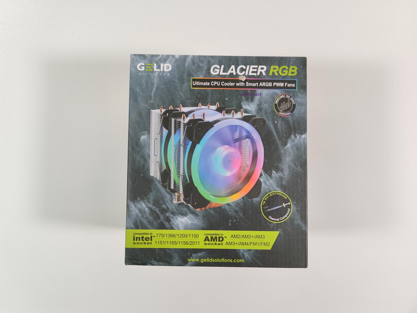 test Gelid Glacier RGB, recenzja Gelid Glacier RGB, opinia Gelid Glacier RGB