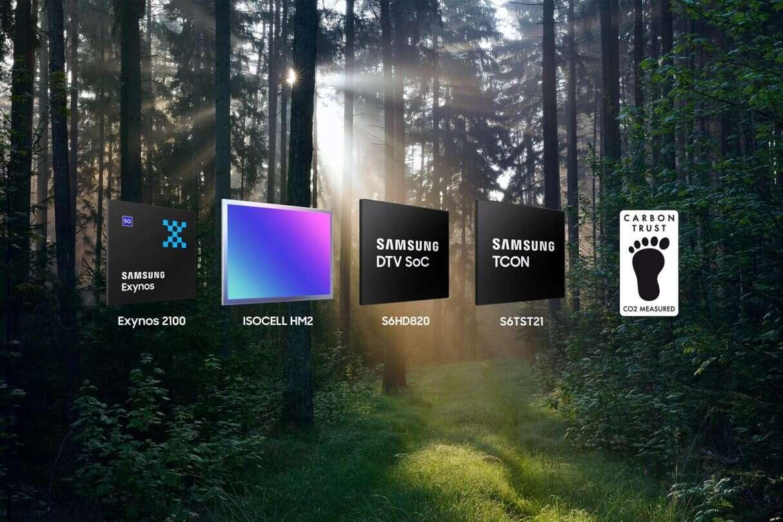 Pierwsze układy logiczne Samsunga z certyfikatami Carbon Trust, Samsung Carbon Trust, Carbon Trust