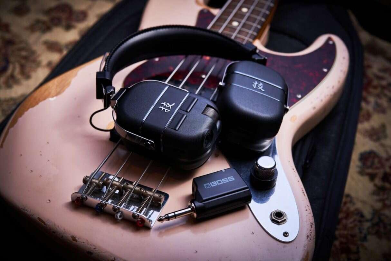 Waza-Air Bass, Słuchawki Waza-Air Bass od Boss