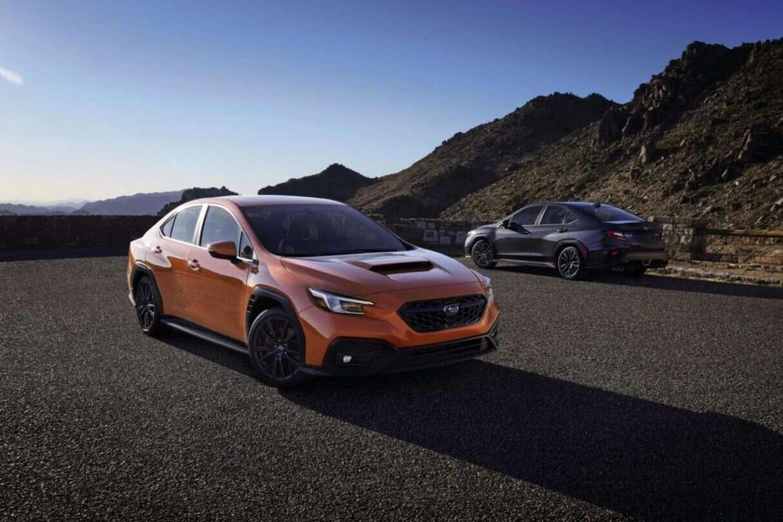 Subaru WRX piątej generacji, SUbaru WRX 2022, WRX 2022
