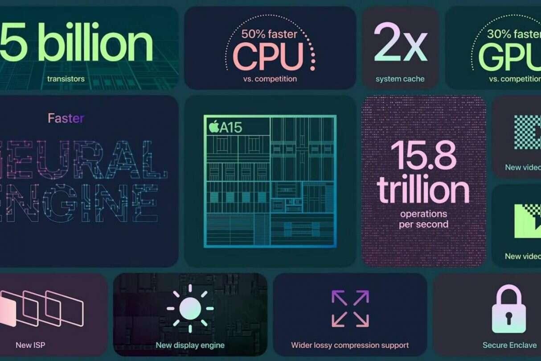 Zaglądamy pod maskę iPhone 13 oraz iPada Mini, słów kilka o Apple A15 Bionic
